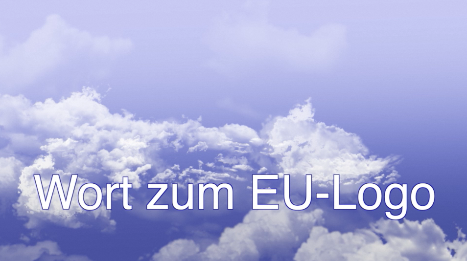 Wort zum EU-Logo 2020